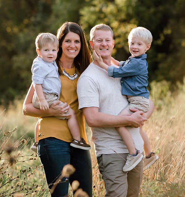 Wesley Howard, DDS and His Family